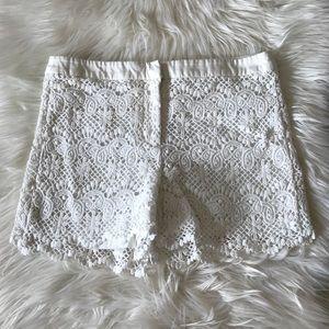 Joe Fresh Lace Shorts